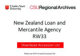 New Zealand Loan and Mercantile Agency, Wagga Wagga