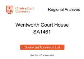 Wentworth Court House