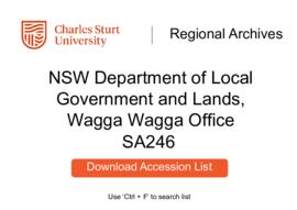 NSW Department of Local Government and Lands, Wagga Wagga Office