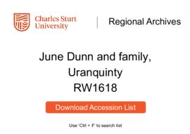 Dunn Family of Uranquinty