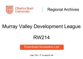 Murray Valley Development League