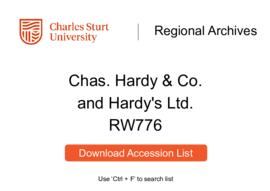 Charles Hardy & Co. (Hardy's Ltd.)