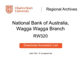 National Bank of Australia, Wagga Wagga Branch