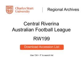 Central Riverina Australian Football League