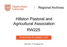 Hillston Pastoral and Agricultural Association