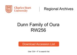 Dunn Family of Oura