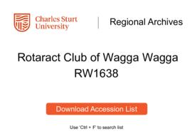 Rotaract Club of Wagga Wagga