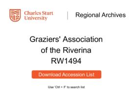 Graziers' Association of the Riverina