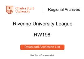 Riverine University League
