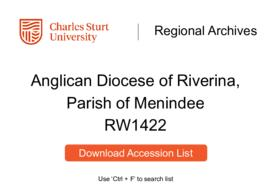 Anglican Diocese of Riverina, Parish of Menindee