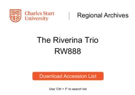 The Riverina Trio