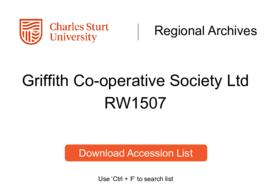 Griffith Co-operative Society Ltd.