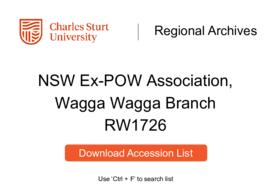 NSW Ex-Prisoner of War Association, Wagga Wagga Branch