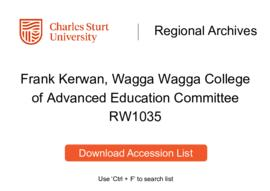 Wagga Wagga College of Advanced Education Committee