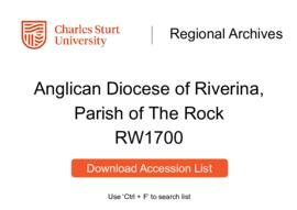 Anglican Diocese of Riverina, Parish of The Rock