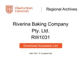 Riverina Baking Company Pty. Ltd.